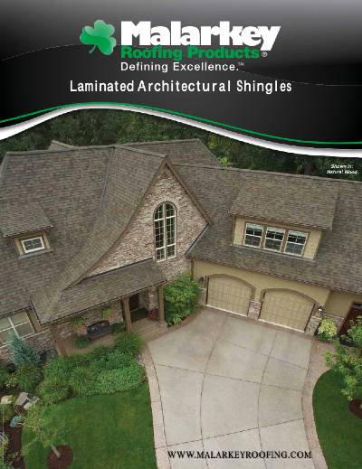 Gruwell Roofing PDF - Malarkey laminate shingles brochure