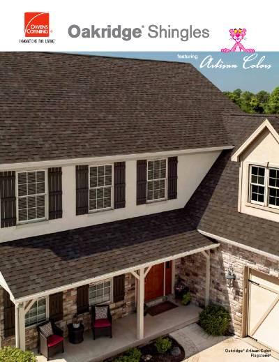 Gruwell Roofing PDF - Owens Corning Shingles Artisan Colors brochure