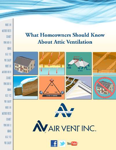 Gruwell Roofing PDF - What Homeowners Should Know About Attic Ventilation